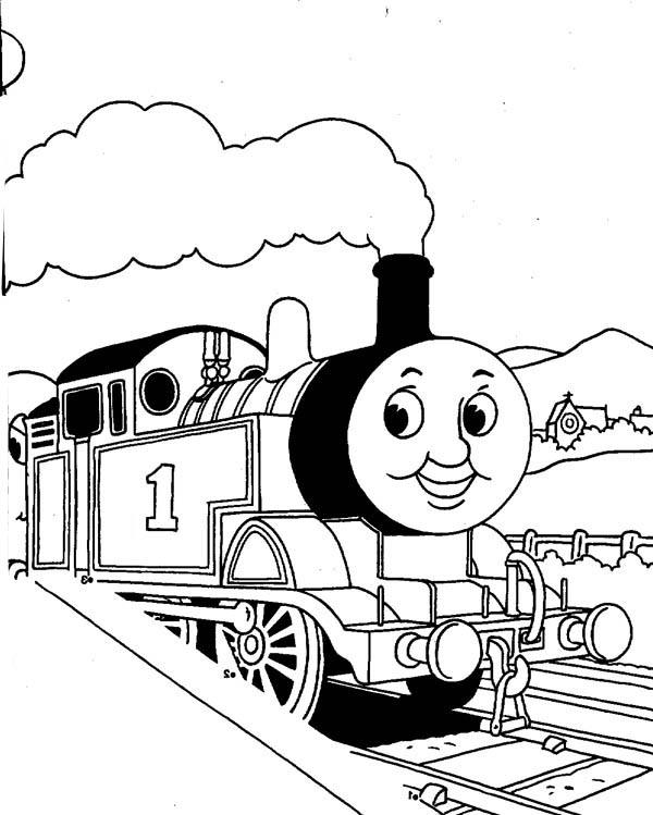 Thomas And Friends Coloring Pages To Print