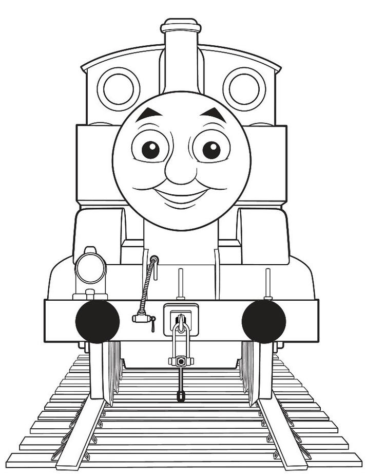 Thomas The Train Characters Coloring Pages