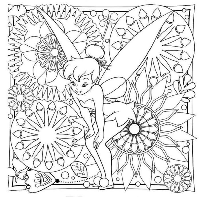 Tinkerbell Coloring Pages For Adults