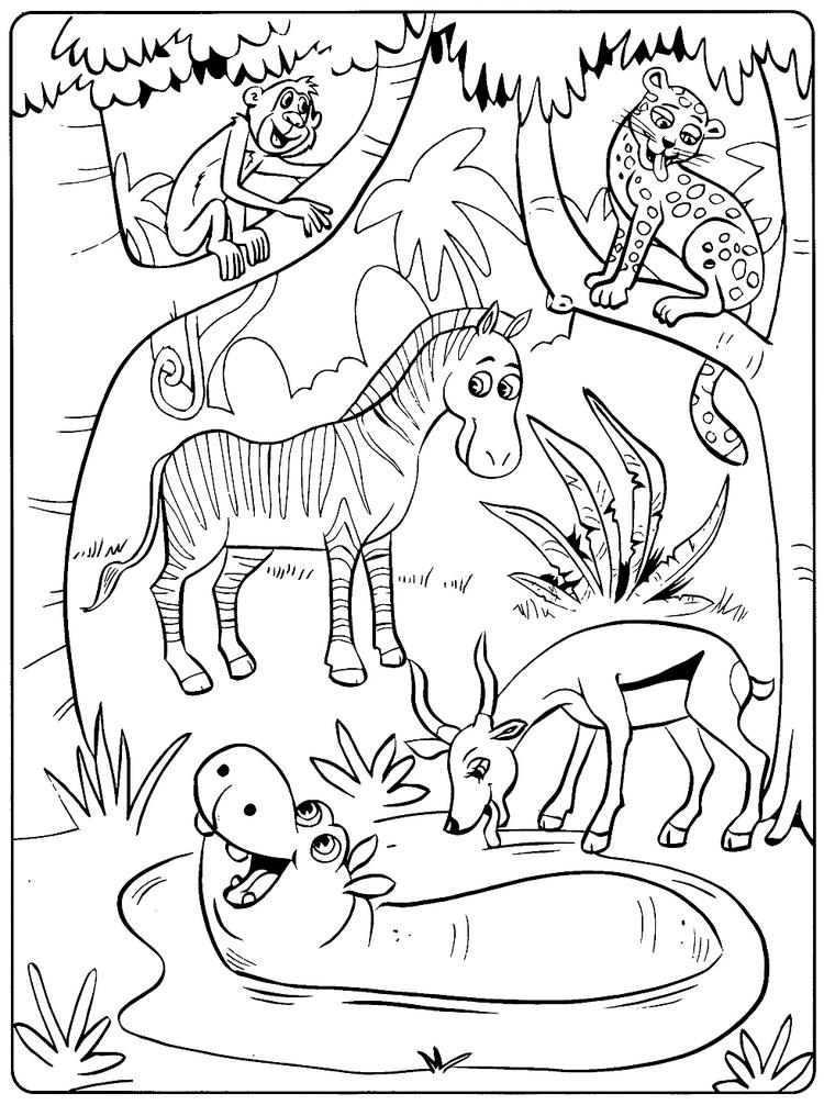 Toddler Animal Coloring Pages To Print