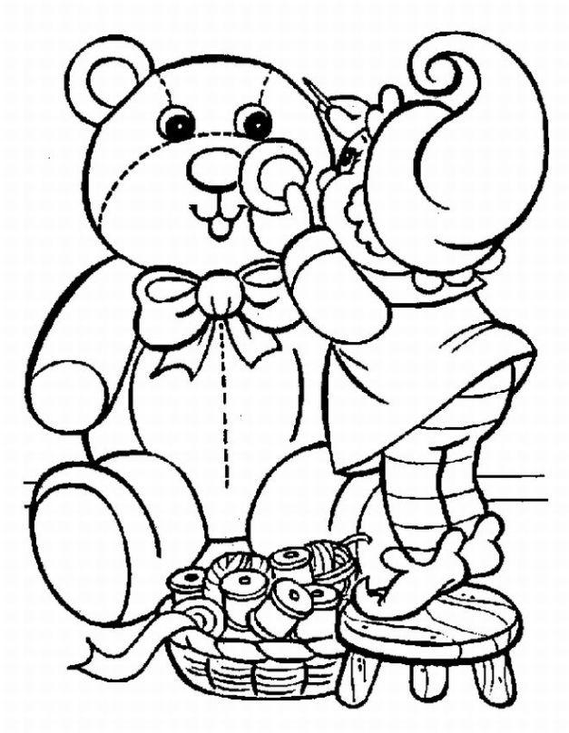 Toddler Christmas Coloring Pages Printable