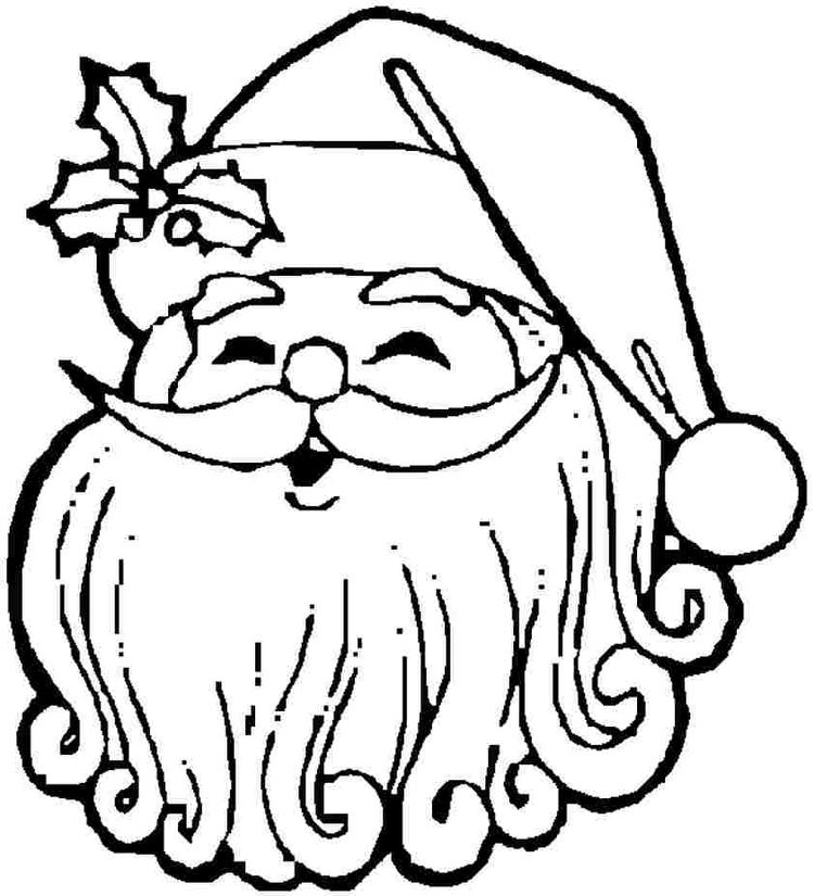 Toddler Christmas Coloring Pages To Print