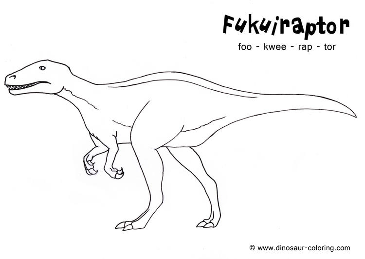 Toddler Dinosaurs Coloring Pages 1