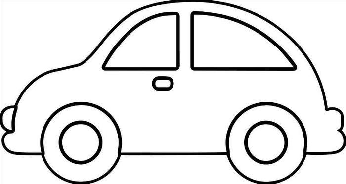 Toddlers Coloring Pages Car