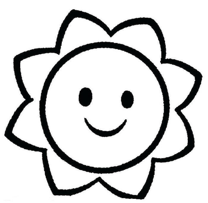 Toddlers Coloring Pages Easy