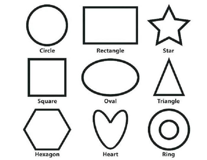 Toddlers Coloring Pages Shape