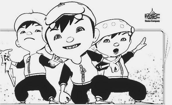 Top Boboiboy 3 Coloring Pages