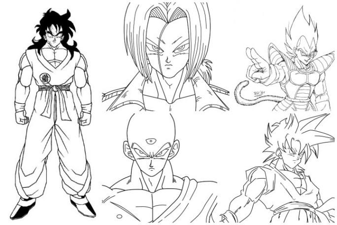 Top Dragon Ball Coloring Pages 07