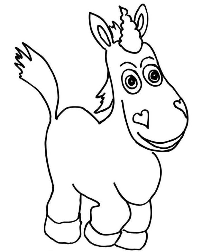 Toy Story 3 Buttercup Coloring Pages