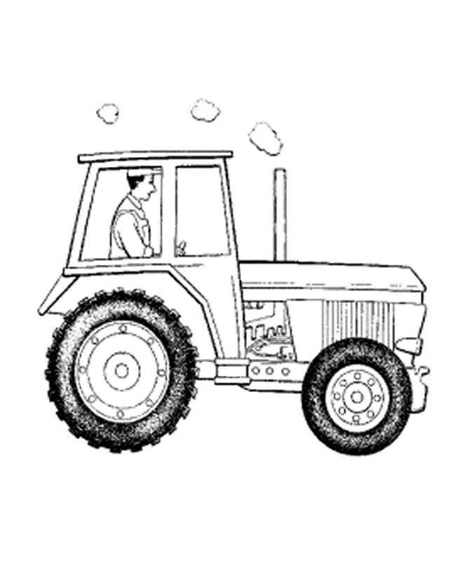 Tractor Coloring Pages For Boys