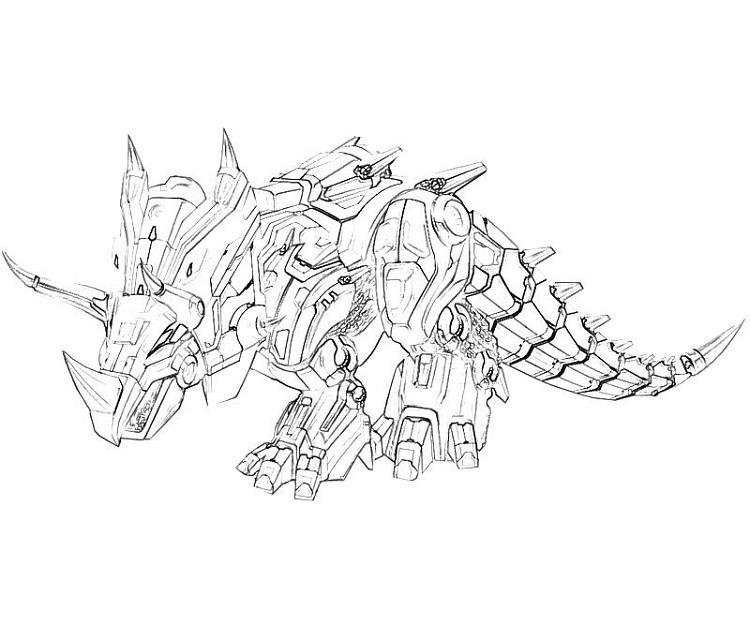 Transformers Coloring Pages Grimlock