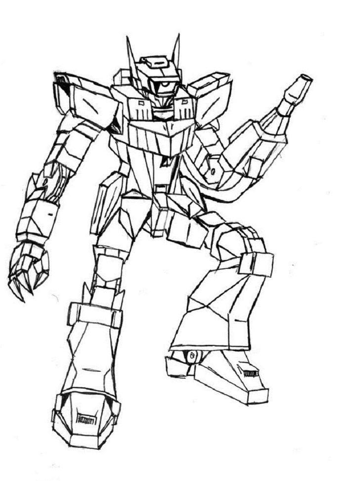 Transformers Coloring Pages Shockwave