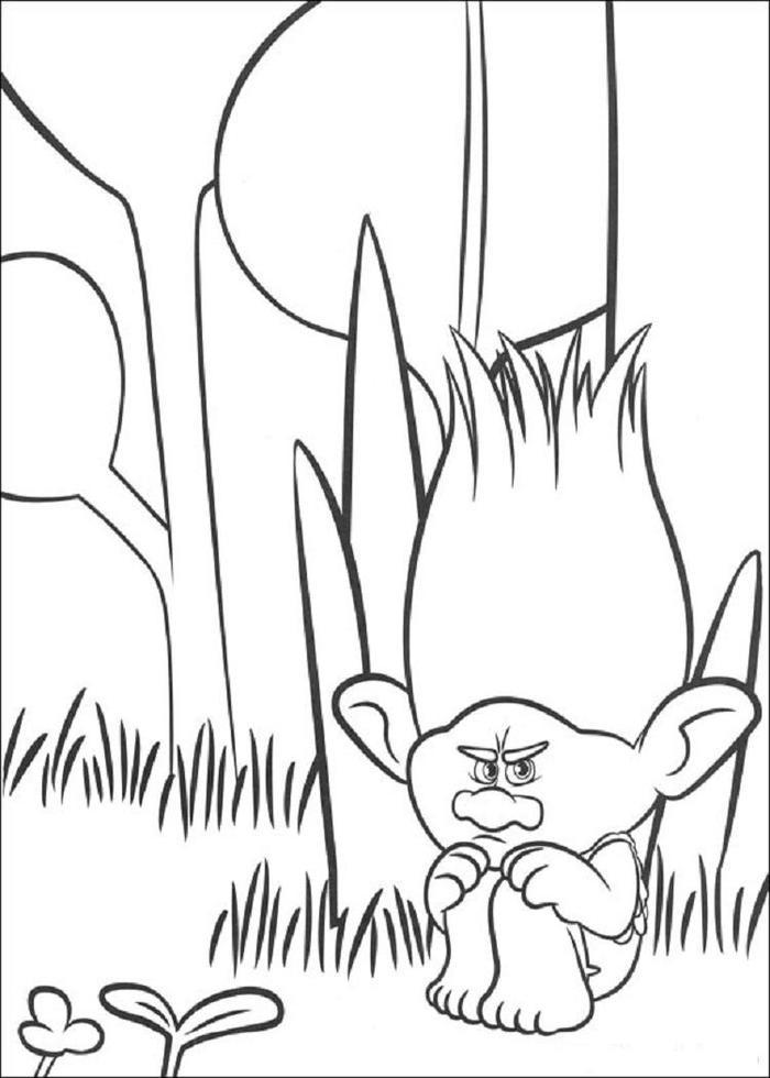 Trolls Coloring Pages Online