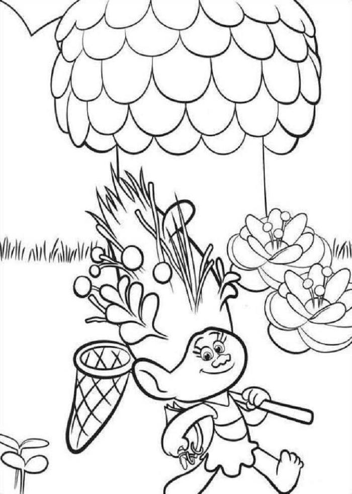 Trolls Coloring Pages To Print