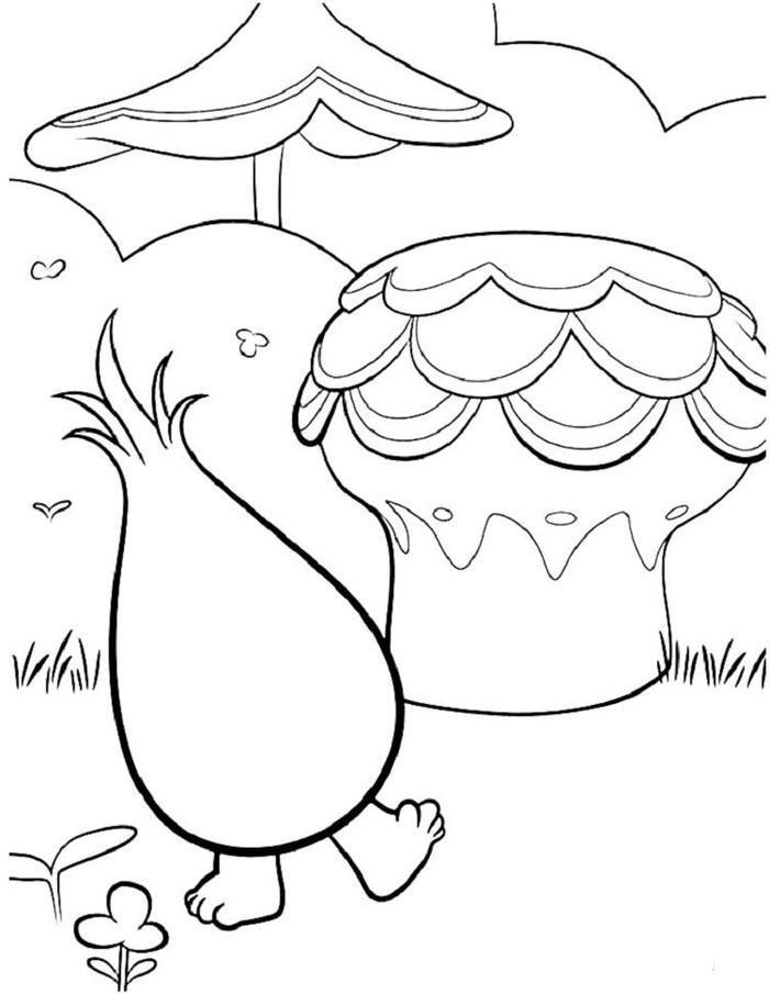 Trolls Dreamworks Coloring Pages