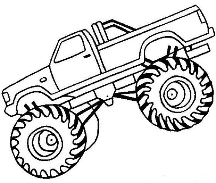 Truck Coloring Pages Pdf