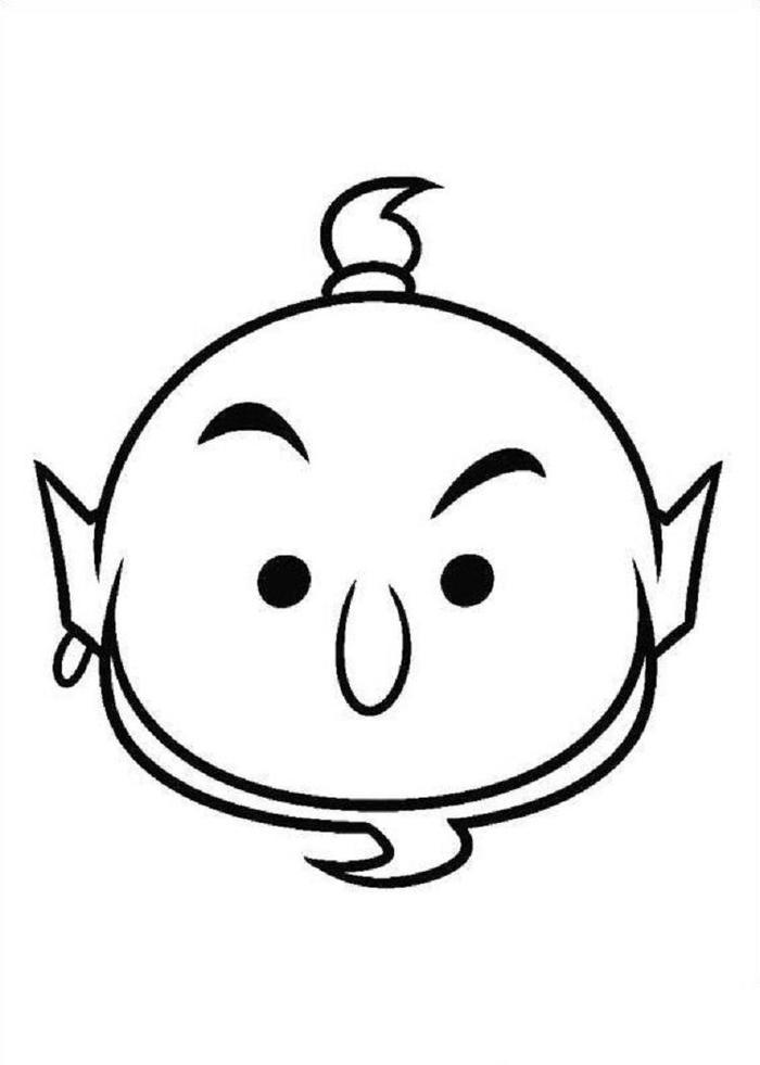 Tsum Tsum Coloring Pages Genie