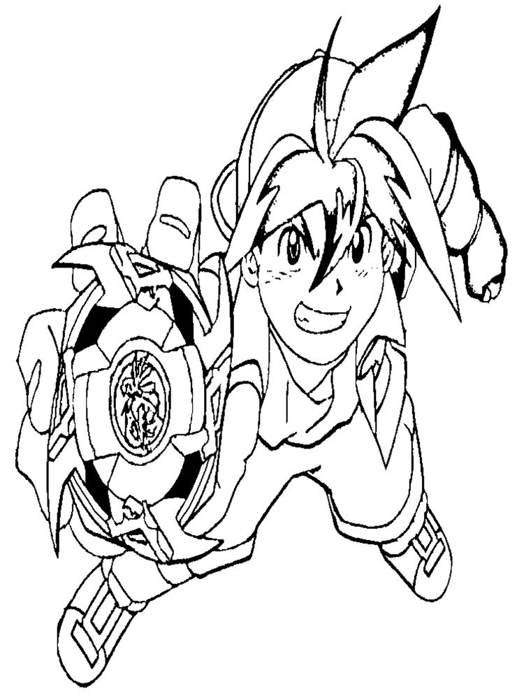 Tyson Beyblade Coloring Pages