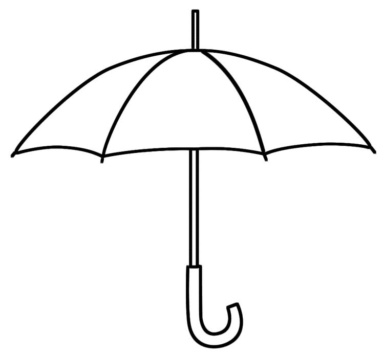 Umbrella Coloring Pages Printable