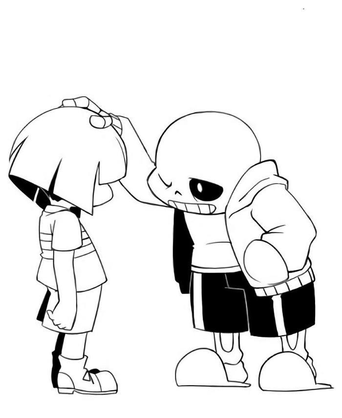 Undertale Coloring Pages Free Printable