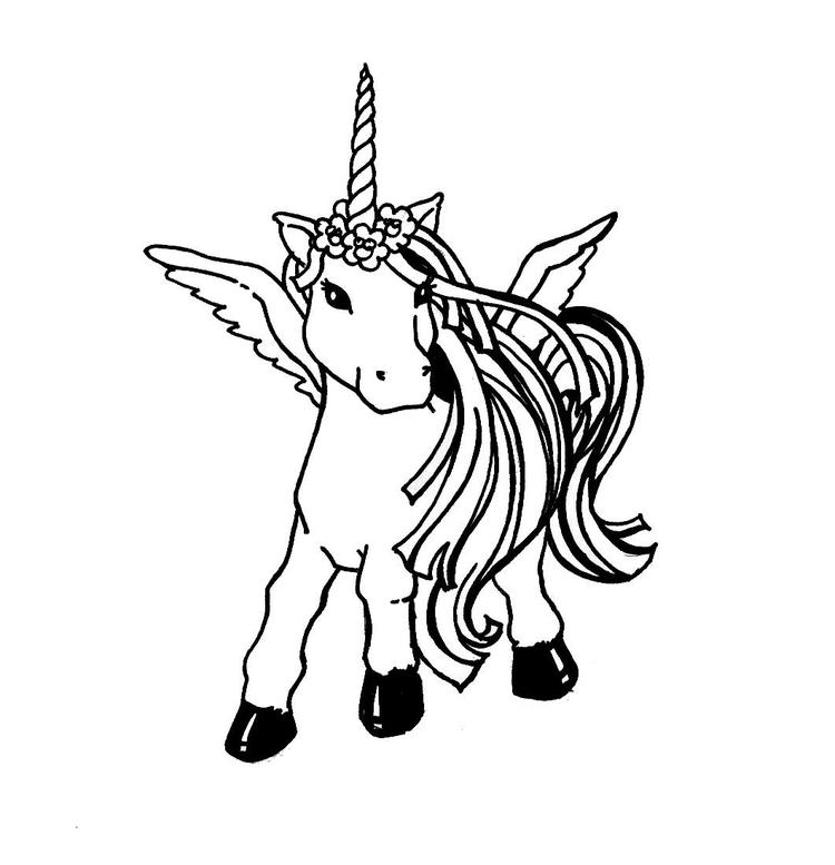 Unicorn Coloring Pages Free To Print