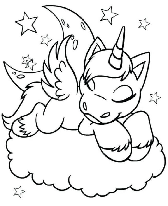 Unicorn Crayola Coloring Pages