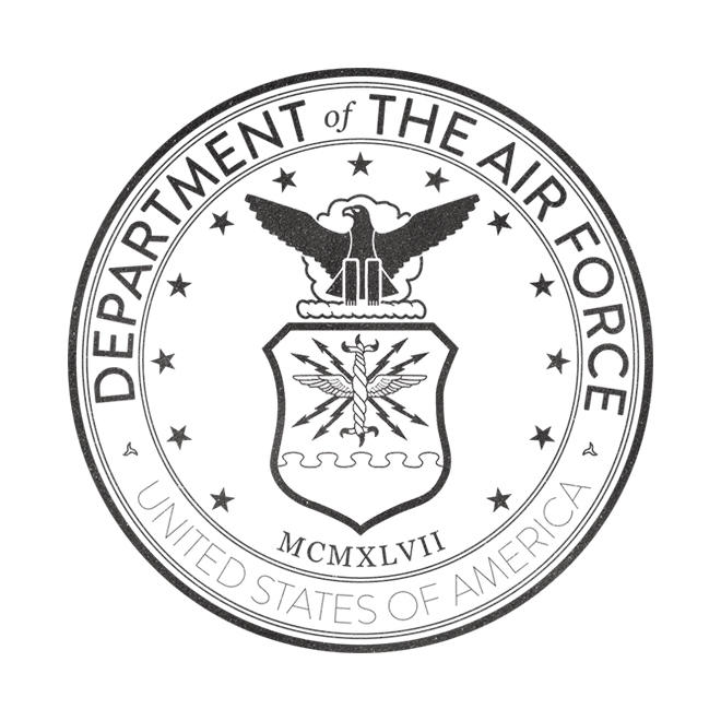 United States Air Force Seal Coloring Page