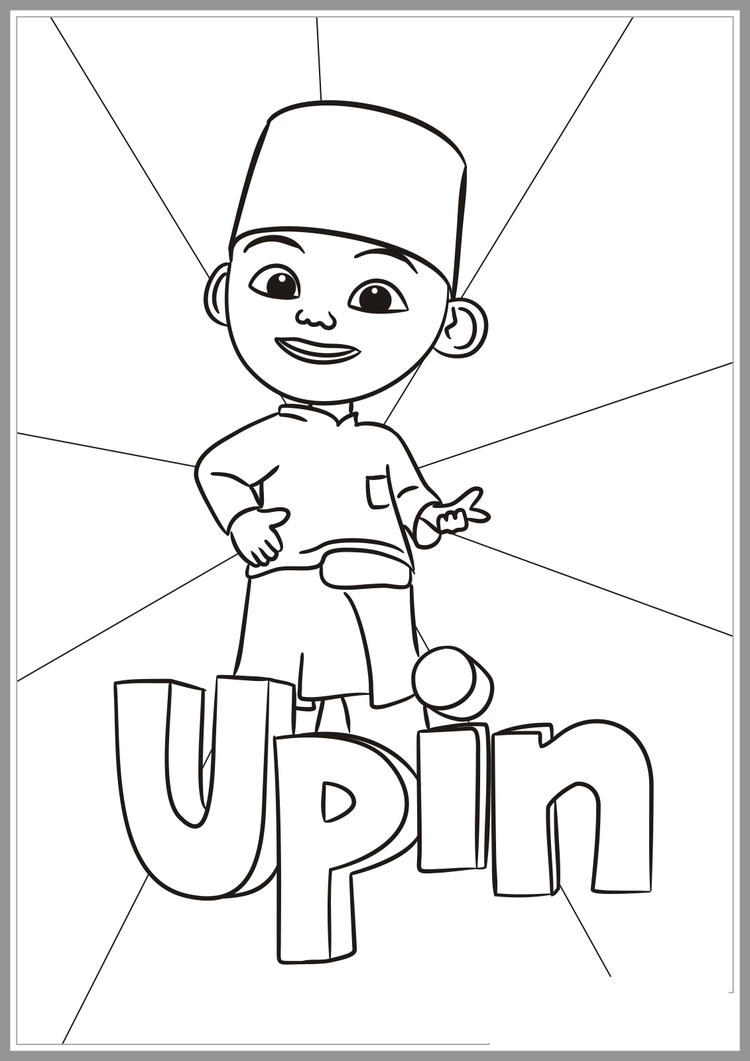 Upin Coloring Pages