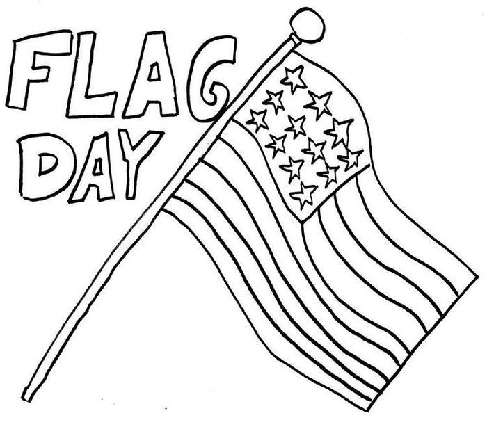 Us Flag Day Coloring Pages