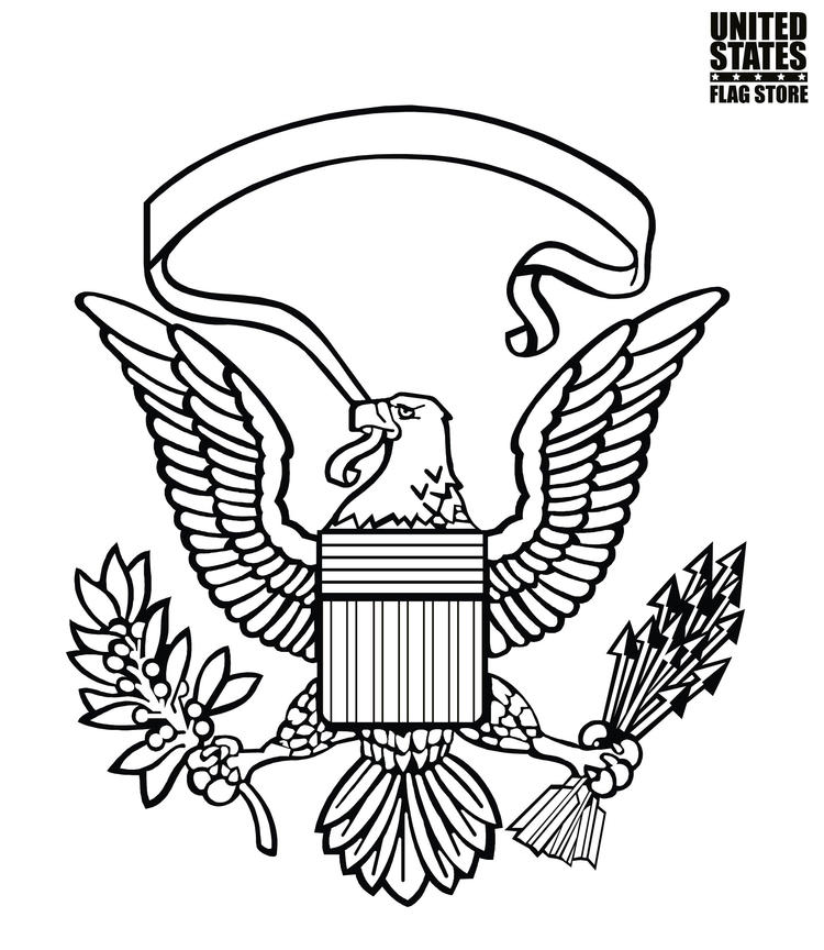 Us Symbol Coloring Pages
