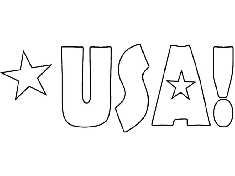 Usa Coloring Pages Easy