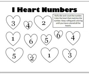 Valentines Day Holiday Worksheets