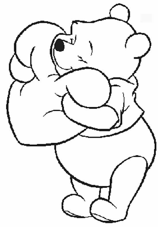 Valentines Day Coloring Pages Winnie The Pooh