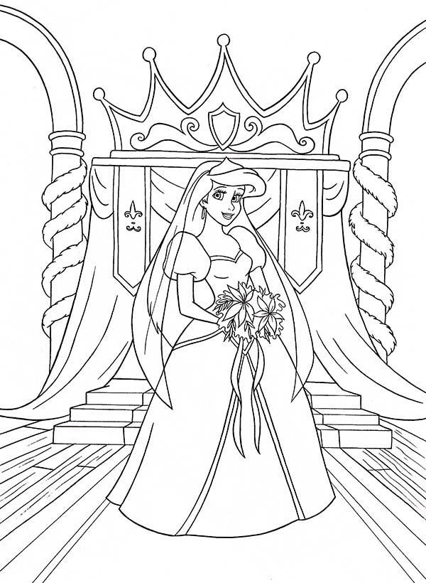 Walt Disney Princesses Birthday Party Coloring Pages