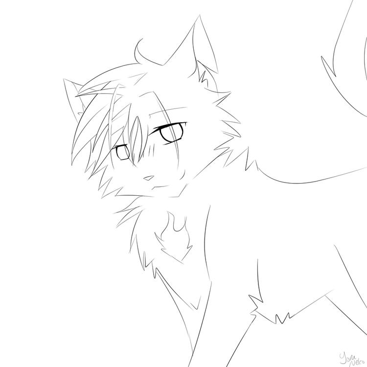 Warrior Cat Coloring Pages For Children