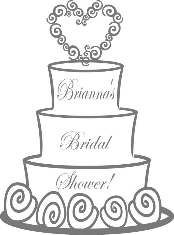Wedding Cake Coloring Pages 05