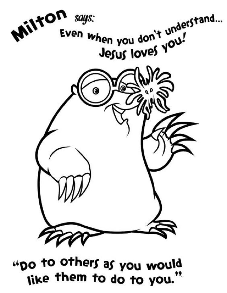 Weird Animal Coloring Pages