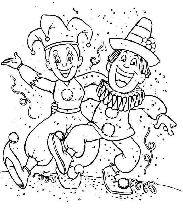 Winter Carnival Coloring Pages
