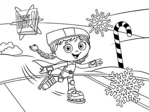 Wondersuper Why Coloring Pages