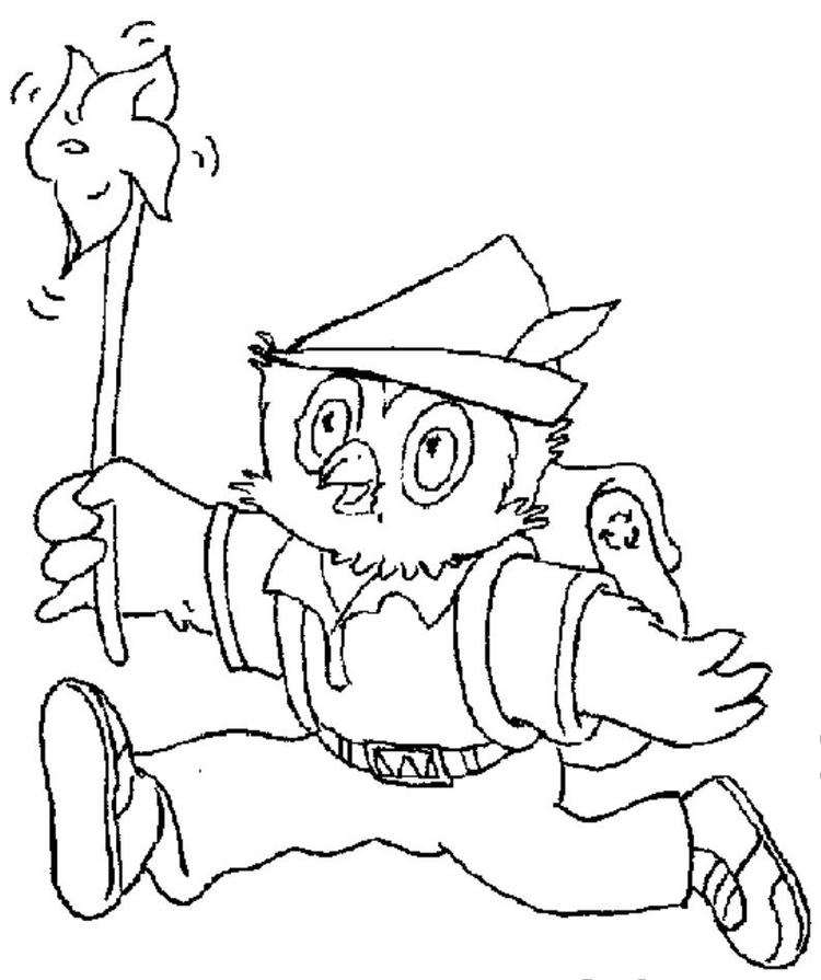 Woodsy Owl Coloring Pages