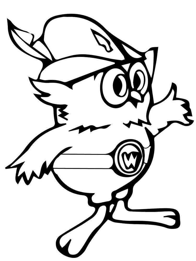 Woodsy The Owl Coloring Pages