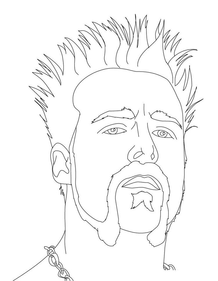 Wwe Coloring Pages Free To Print