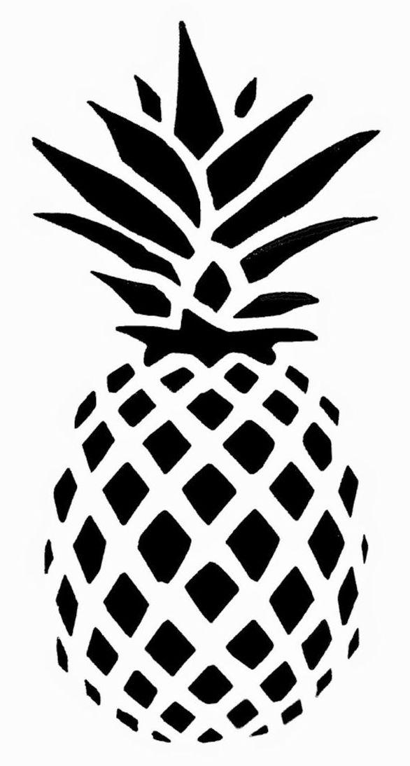 Zentangle Pineapple Print Out Drawing