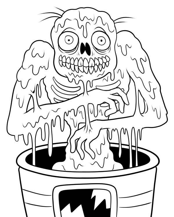 Zombie Coloring Pages Free To Print